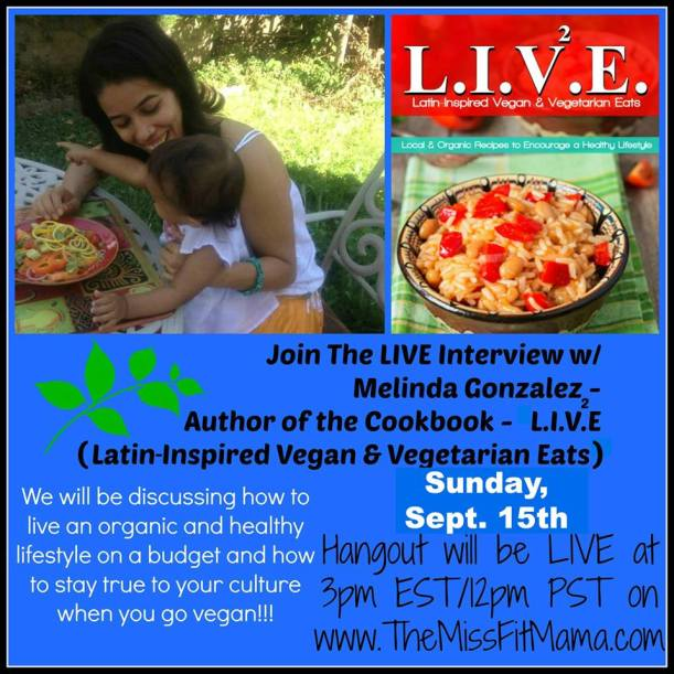Join me 9/15/2013 at 3PM est in a LIVE chat!