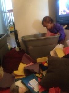 you unpacking